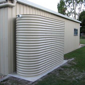 Home rain harvesting system