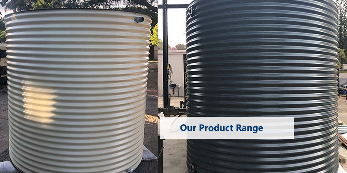 Water Tanks: Our Product Range