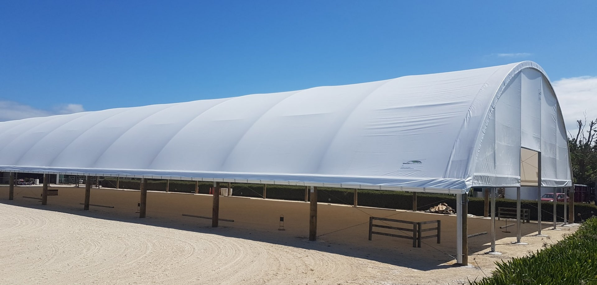 Dome Fabric Cover Structure