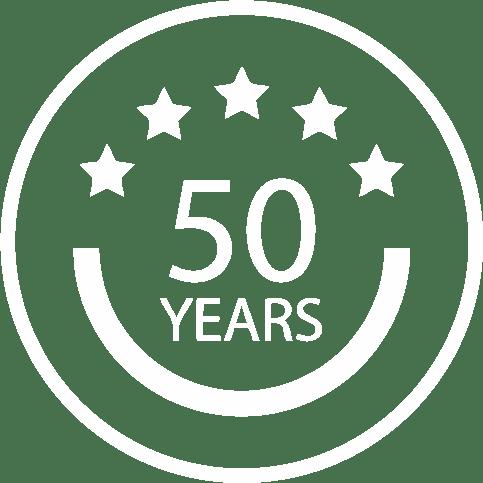 Aquadam 50 years icon