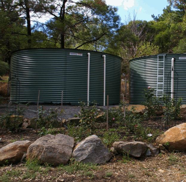 Aquadam corrugated water tank