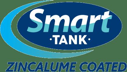 Aquadam smart tank zincalume coated logo