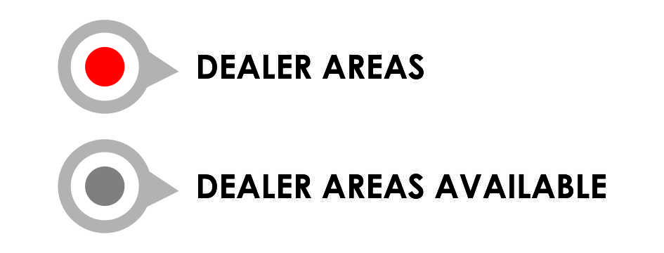 Image showing dealer areas available